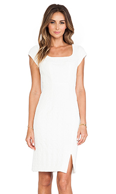 Nanette Lepore Chase Me Dress in Ivory