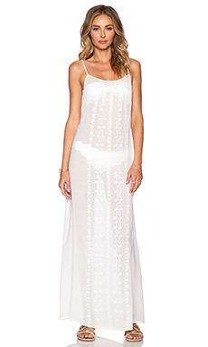 Nanette Lepore Calcutta Maxi Dress in White