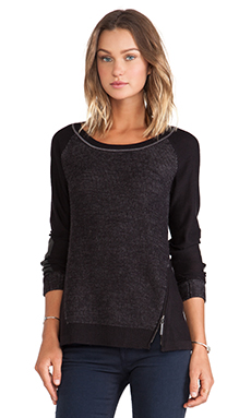 Nanette Lepore In Disguise Pullover in Charcoal