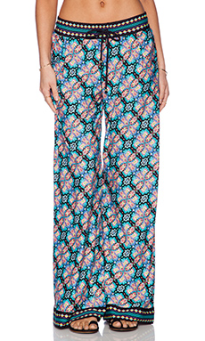 Nanette Lepore Paloma Beach Print Pant in Multi