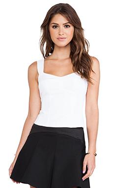 Nanette Lepore Seniorita Top in White