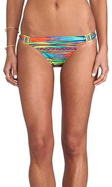 Nanette Lepore Sinaloa Stripe Charmer Bikini Bottoms in Multi