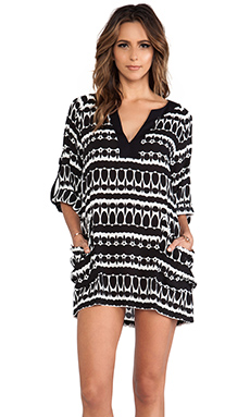 Nanette Lepore Grand Bazaar Tunic in Black