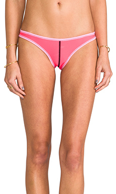 N.L.P Seam Classic Cut Neoprene Bottom in Neon Pink