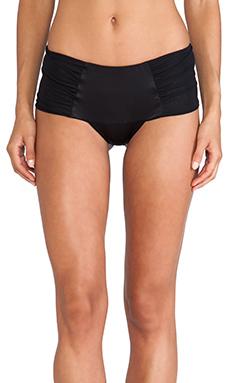 NOE Undergarments Ryan Silk Brazilian Panty in Black