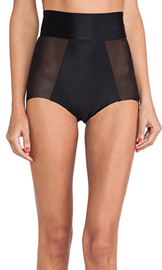 NOE Undergarments Oliver High Waisted Brief in Black