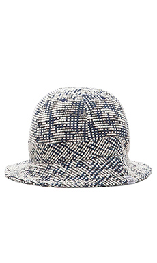 Norse Projects Bubble Weave Bucket Hat in Kit White