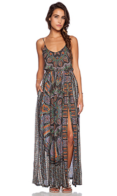 NOVELLA ROYALE Wild Love Maxi Dress in Amethyst Dial