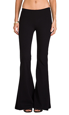 NOVELLA ROYALE Janis Wide Leg Pant in Black