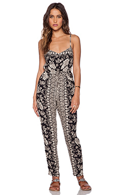 NOVELLA ROYALE West Coast Jumpsuit in Black Hazely