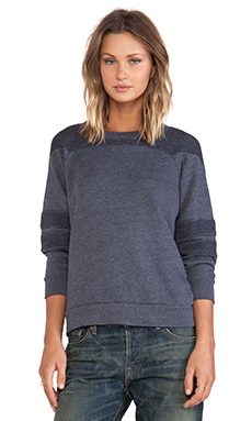 NSF Chava Sweatshirt in Deep Navy
