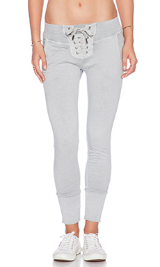 NSF Maddox Sweatpant in Pigment Pale Grey