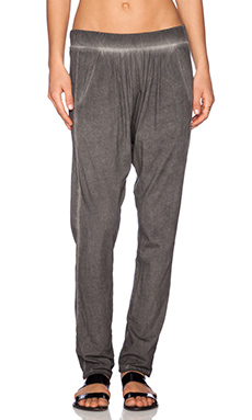 NSF Shada Sweatpant in Oil Wash Black