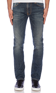 Nudie Jeans Thin Finn in Dusk Indigo