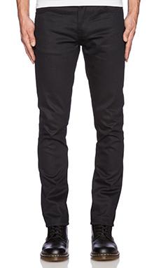 Nudie Jeans Grim Tim in Org Dry Black Marquee