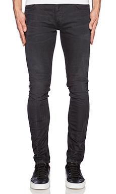 Nudie Jeans Skinny Lin in Org Concrete Weft