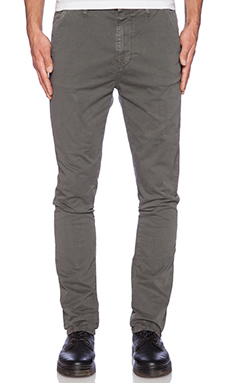 Nudie Jeans Khaki Slim in Shadow Wash