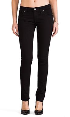 Nudie Jeans Tight Long John Skinny in Black Black
