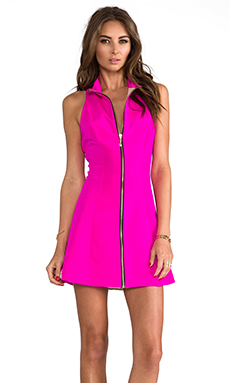 Naven A-Line Mod Dress in Pop Pink