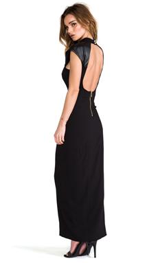 Naven Galactic Gown in Black/Black