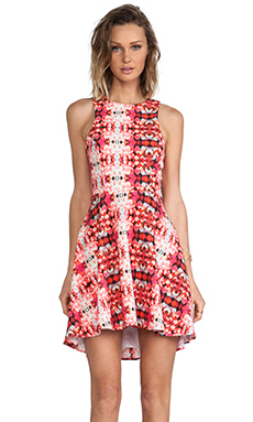 Naven Jackie Dress in Rose Kaleidoscope
