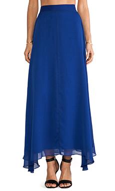 Naven Maxi Skirt in Vegas Blue