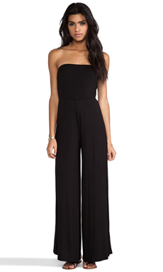 Naven Casuals Strapless Jumper in Black