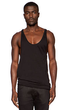 OAK Side Cowl Tank in Black