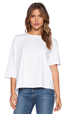 OAK Drop Shoulder Tee in White