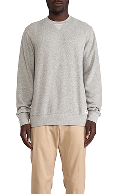 Obey Dissent Crew in Heather Grey