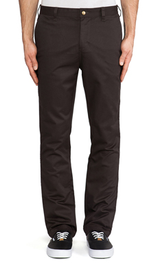 Obey Good Times Pant in Graphite