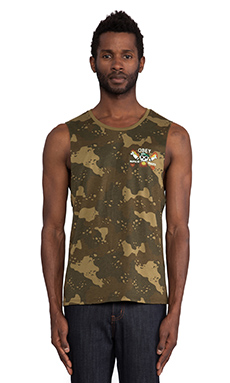 Obey Napalm Hearts in Desert Camo