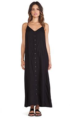 Obey Tyler Midi Dress in Black