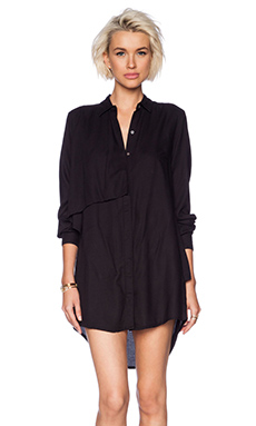 Obey Crosby Dress in Black