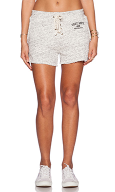Obey Kloss Short in Heather Black