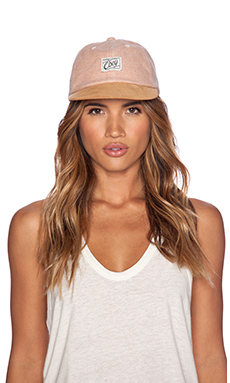Obey Danbury Throwback Cap in Blush