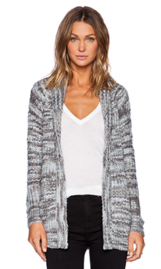 Obey Pike Cardigan in Ash