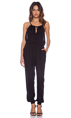 Obey Kaci Jumpsuit in Black