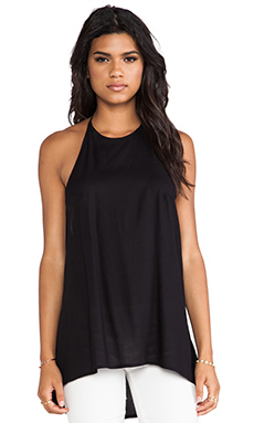 Obey Bowery Halter Tank in Black