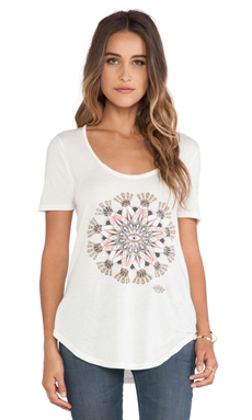 T-SHIRT GRAPHIQUE EYE MANDALA 2