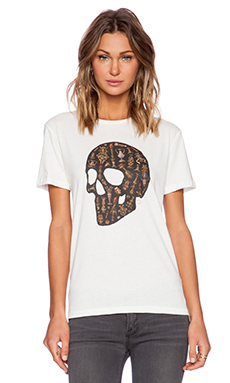 Obey Ecclesia Mortem Tee in Natural