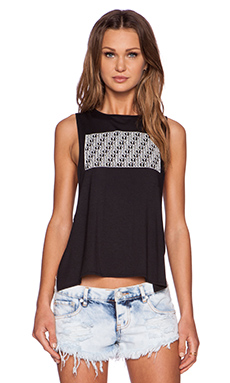 Obey Block Tank in Black
