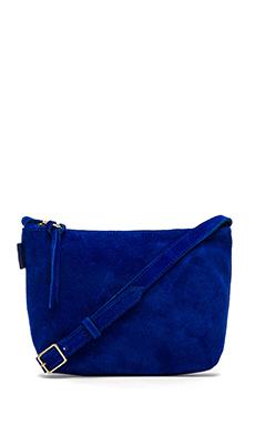 Obey Adieu Suede Bag in Cobalt