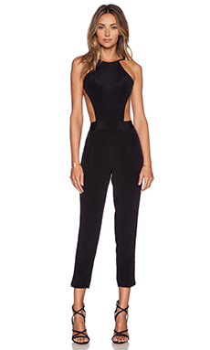 EXPOSED TOP JUMPSUIT