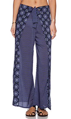 OndadeMar Mosaic Blue Pant in Mosaic Blue