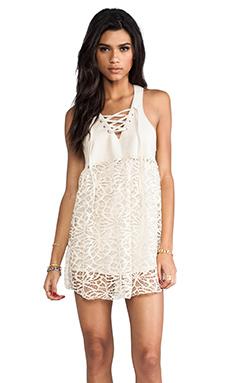 One Teaspoon Lace Lulu Dress in Cream
