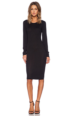One Teaspoon Kingston Knit Dress in Black
