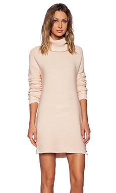One Teaspoon Parisienne Nights Sweater Dress in Rose