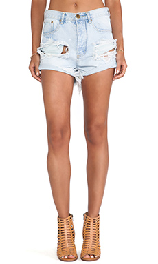 One Teaspoon Outlaws Jean Short in Brando