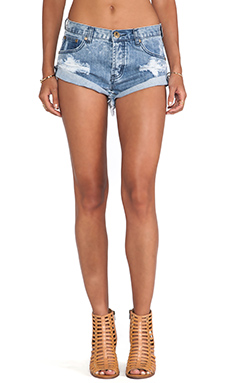 One Teaspoon Bandits Jean Shorts in Rocky